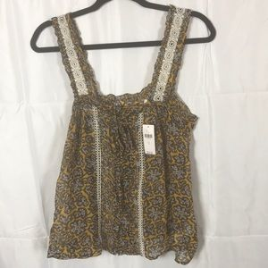 Anthropologie Bardot blouse size 6